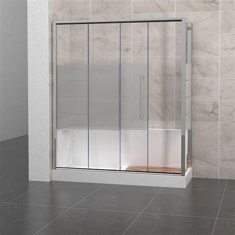 vetro vasca doccia vasca con vetro doccia