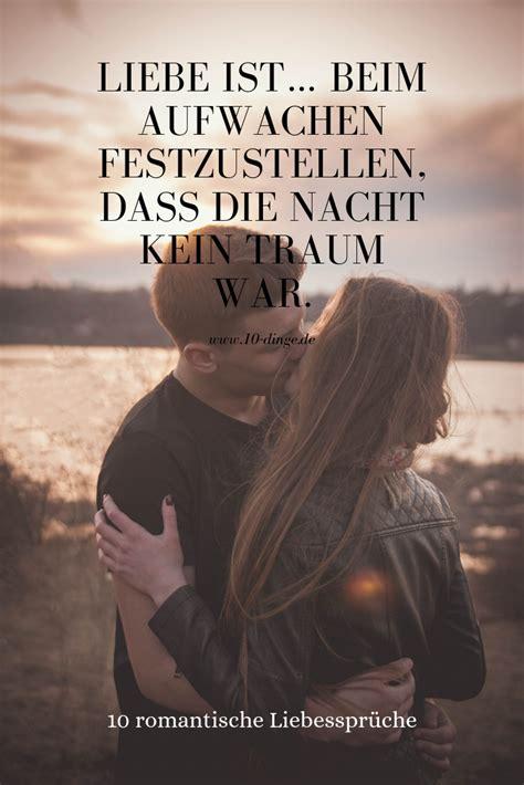 romantische liebessprueche