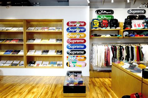 suprem store the bringing supreme to china racked