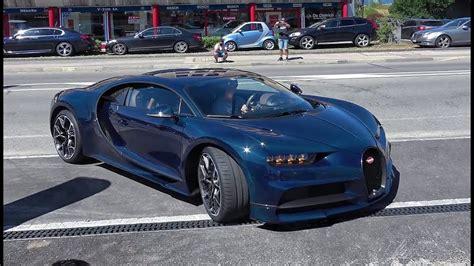 Bugatti Chiron Startup by Bugatti Chiron Acceleration Start Up In