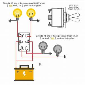 Dc Toggle Switch Wiring Diagram