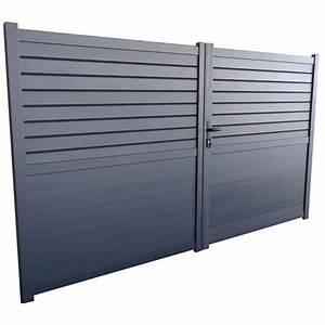 Portail Aluminium Pas Cher : portail alu 3m pas cher ~ Melissatoandfro.com Idées de Décoration