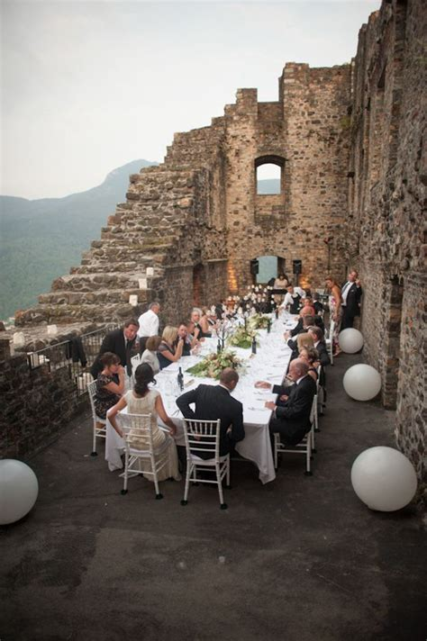 Intimate Destination Wedding In Switzerland Receptions