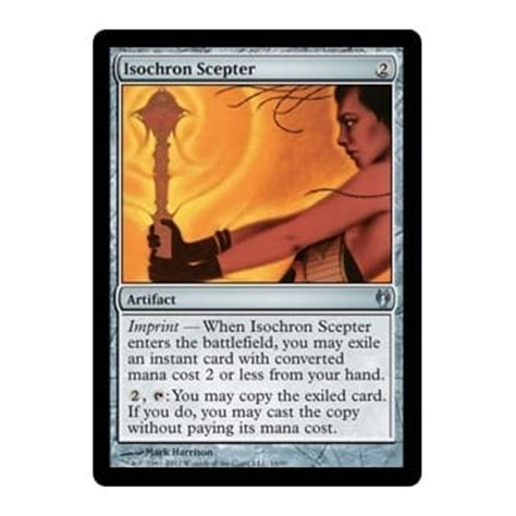 isochron scepter deck list isochron scepter magic the gathering from magic madhouse uk