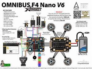 Airbot Omnibus F4 Nano V6 Flight Controller   Ori32 Esc