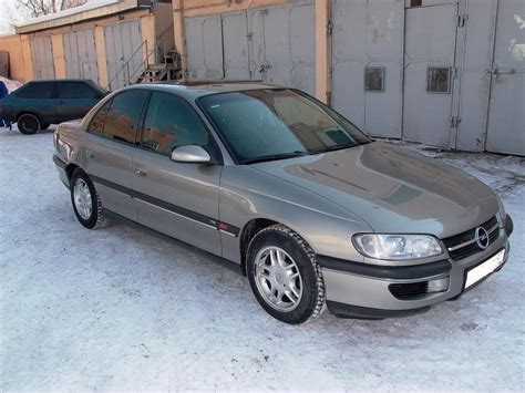 Opel Omega B by 1998 Opel Omega B Pictures
