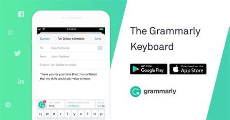 grammarly keyboard grammarly
