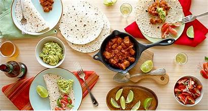 Mexican Lunch Mexico Spanish Dinner Wallpapers Wallpaperup