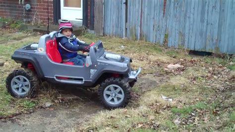 Modified Power Wheels Reece Jeep Hurricane