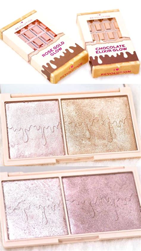 heart revolution glow highlighter palettes review  swatches highlighter makeup makeup
