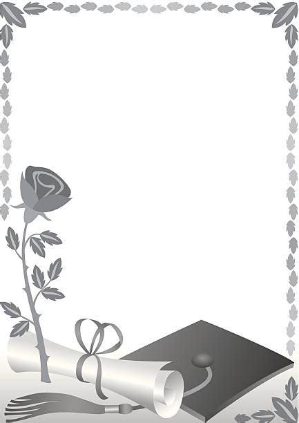 royalty  silhouette   graduation cap border clip