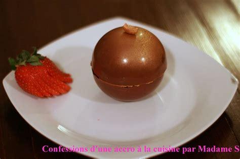 tablette recette de cuisine sphère chocolat caramel ou le dessert