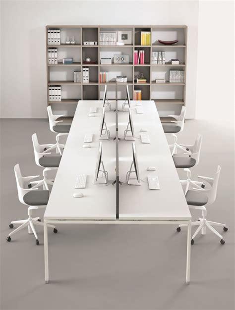 bureau open space bureau bench 6 personnes pour open space atreo alea office delexmobilier fr