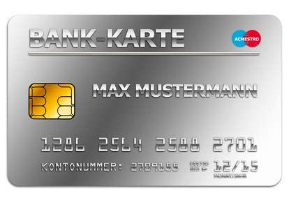 wie unterscheiden sich kreditkarten von maestro karten