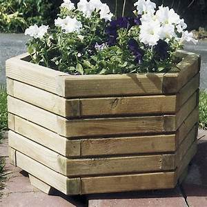 Bac à Fleurs : bac fleurs de jardin bac fleurs en bois ~ Teatrodelosmanantiales.com Idées de Décoration