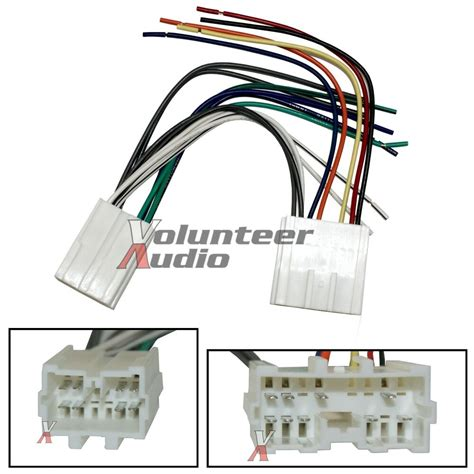 Volvo Car Stereo Player Wiring Harness Wire Aftermarket