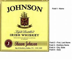 jameson label mini oak barrels With jameson whiskey label template