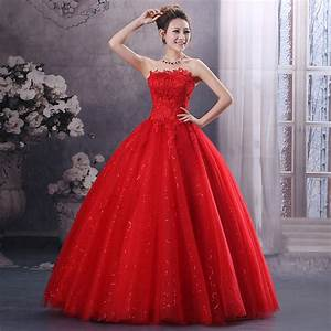 Red Wedding Dress 2015 Hot Sale Sweetangel Sweetheart ...