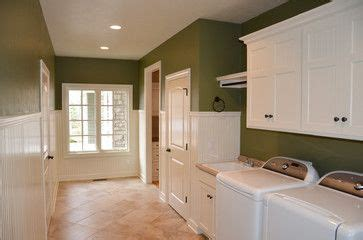 laundry room  sherwin williams olive grove walls home house design custom homes