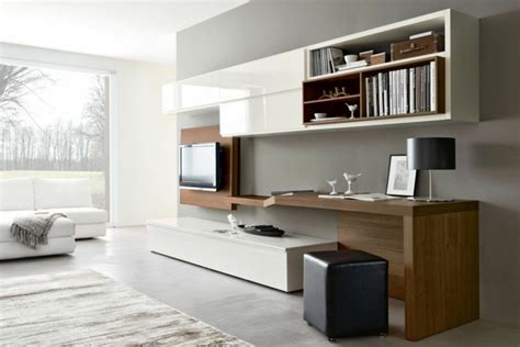 am 233 nagement de bureau moderne dans un salon design