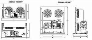 Bitzer Cold Room Condensing Unit  U0026 Refrigeration Compressor
