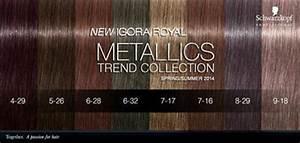 Light Beige Hair Color Chart Schwarzkopf Igora Royal Metallics Glamot Com