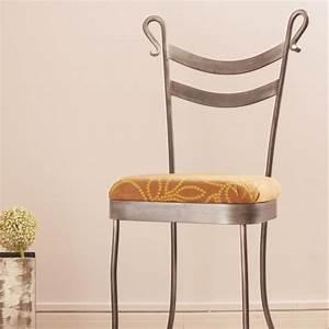 chaise de salle a manger en fer forge pour interieur With chaises en fer forge pour salle a manger