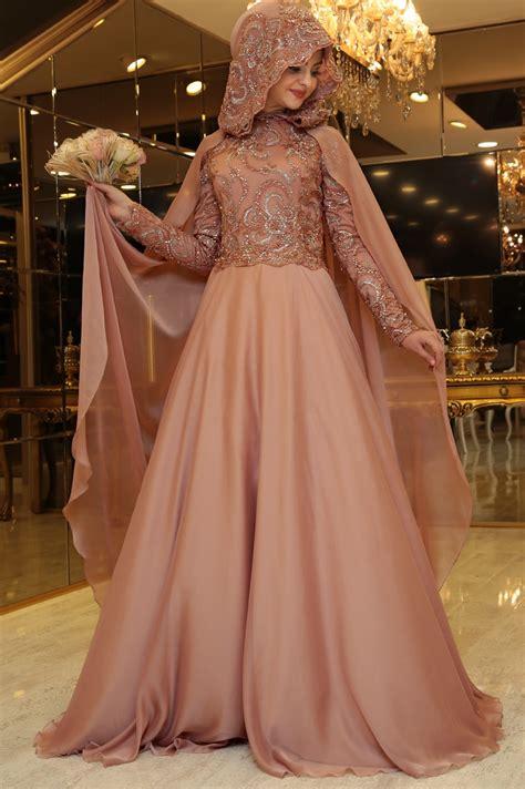 pinar sems  abiye tesettuer elbise modelleri elit moda
