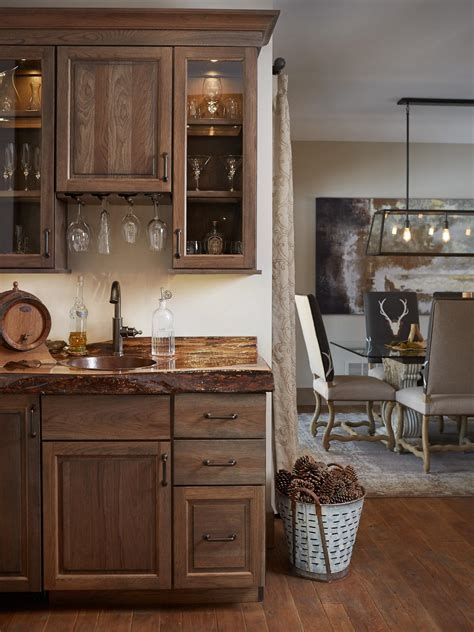 kitchen bar cabinet ideas tiled kitchen countertops pictures ideas from hgtv hgtv 5089