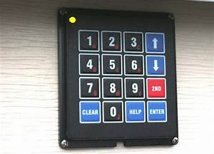 Arduino Blog  U00bb Diy Garage Door Keypad Project