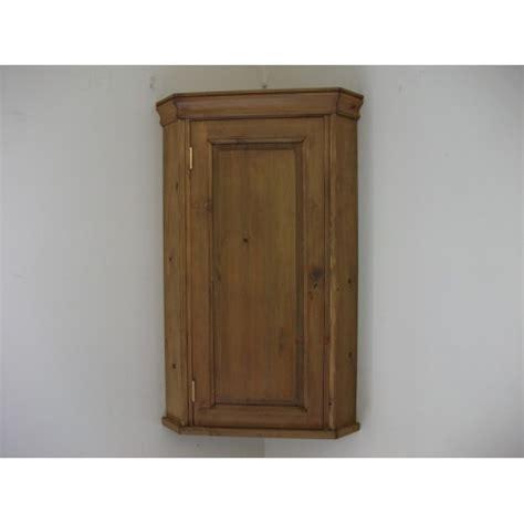 pine wall corner cupboard wcm