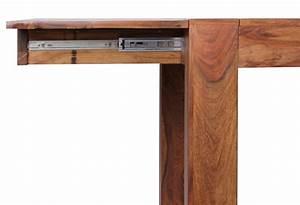 Massiv Esstisch Ausziehbar : design esstisch massiv 160 240 cm ausziehbar sheesham massivholz ~ Indierocktalk.com Haus und Dekorationen