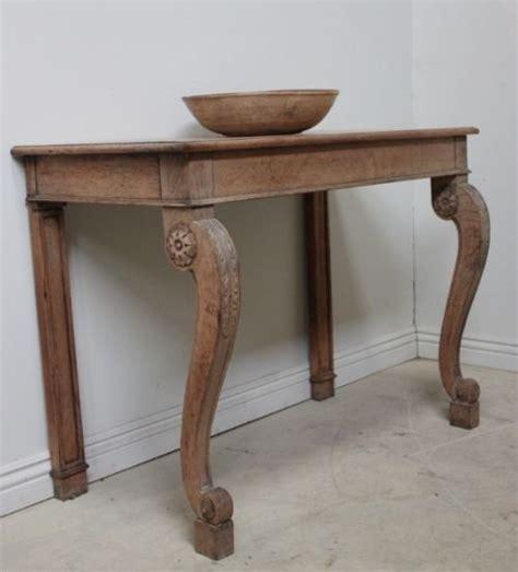 antique oak console table regency antique oak console table 58294 4116