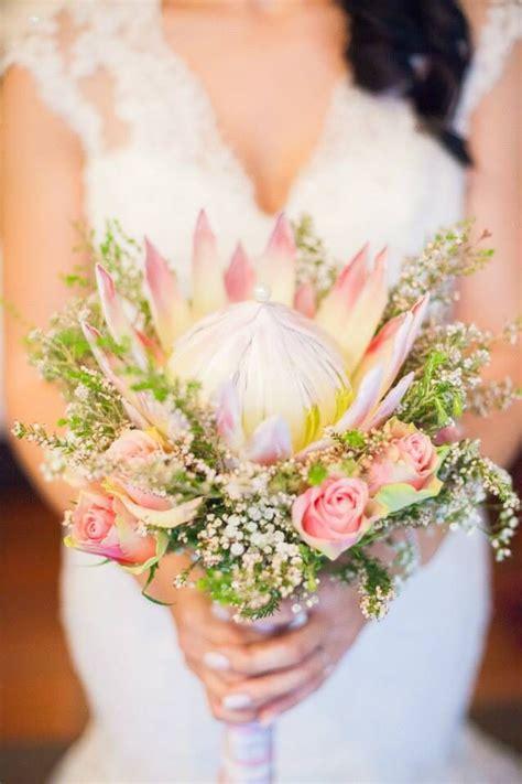 King Protea Wedding Bouquet Kruger Park Wedding