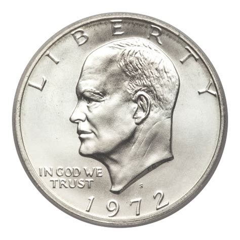 specifications eisenhower silver dollars sdc how much is a 1972 silver dollar worth