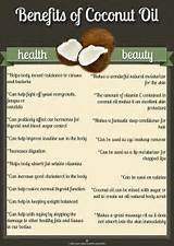 Images of The Benefits Of Coconut Oil
