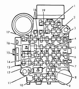 96 Dakota Fuse Box Diagram