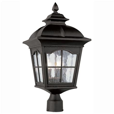 bel air lighting bostonian 3 light outdoor black post top