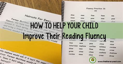 How To Improve Reading Fluency In Children  The Literacy Nest