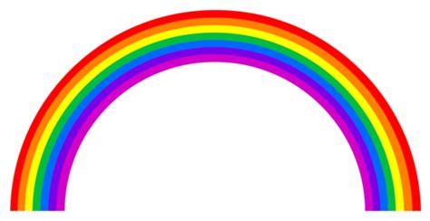rainbow arc vector  clip art
