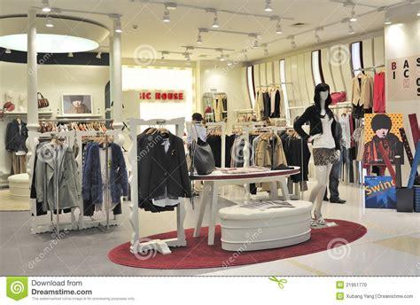 Image Clothing Store S Fashion Clothing Store Editorial Image Image