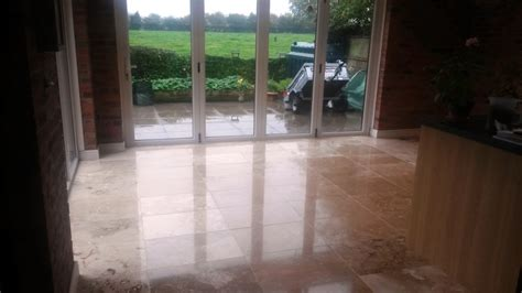 burnishing floors after waxing cleaning and polishing tips for travertine floors