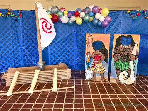 Life Size Moana Boat Diy by Moana Luau Birthday Party Ideas In 2018 Moana Birthday