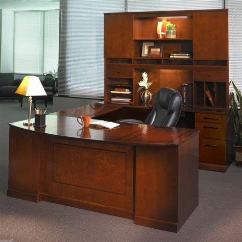 Office Desk by Right U Shaped Executive Computer Desk Office Suite
