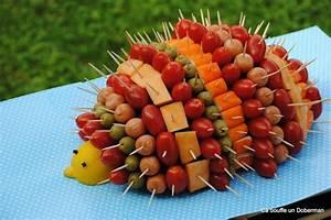 Decoration Legumes Facile : ca bouffe un doberman le h risson ap ritif pour un anniversaire qui d chire ~ Melissatoandfro.com Idées de Décoration