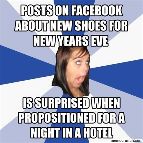 New Years Eve Memes - posts on facebook about new shoes for new years eve