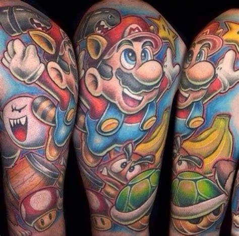 video game tattoos  men gamer tattoo ideas  guys