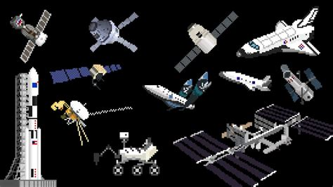 Space Vehicles & Spaceships