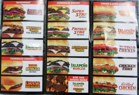 Hardee's Menu - Restaurants Uncut