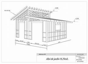 plan cabane de jardin les cabanes de jardin abri de With cabane de jardin plan